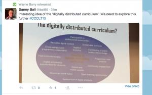 Digitally Distributed Curriculum